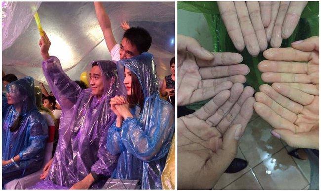 Quên đi mưa bão dữ dội, đồng nghiệp và khán giả đồng lòng nán lại xem liveshow Việt Hương đến phút cuối - Ảnh 19.