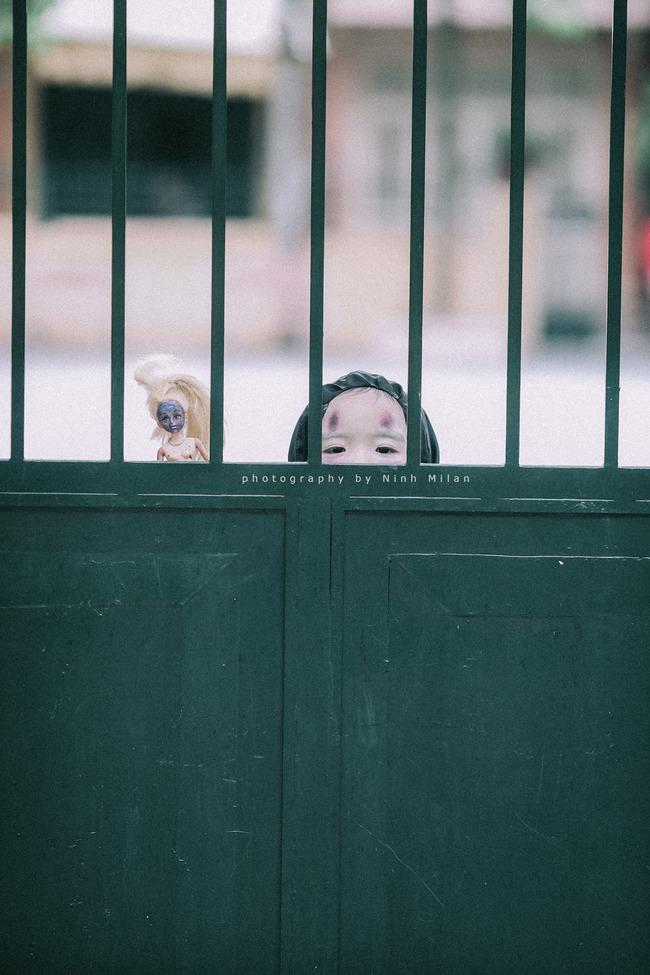 Không kém cạnh cô bé Đài Loan, Vô Diện nhí phiên bản Việt cũng đáng yêu vô cùng! - Ảnh 9.