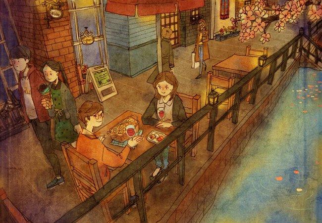 Yêu nhau đôi khi chỉ là làm những việc chẳng liên quan trong lúc ở bên nhau, miễn là cả hai đều vui vẻ - Ảnh 15.