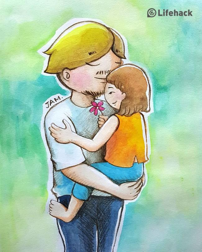 Bộ tranh: Bất cứ cô con gái nào cũng có một ông bố tuyệt vời như thế này đây! - Ảnh 15.