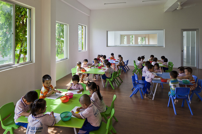 Trường mầm non ở Biên Hòa lọt top 30 công trình đẹp nhất thế giới - Ảnh 7.