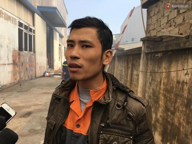 Nhiều người nghi vụ cháy ở KCN Ngọc Hồi do nhóm thợ hàn ống hút khói - ảnh 4