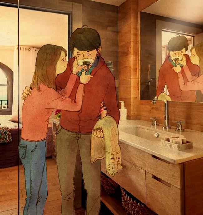 Yêu nhau đôi khi chỉ là làm những việc chẳng liên quan trong lúc ở bên nhau, miễn là cả hai đều vui vẻ - Ảnh 16.