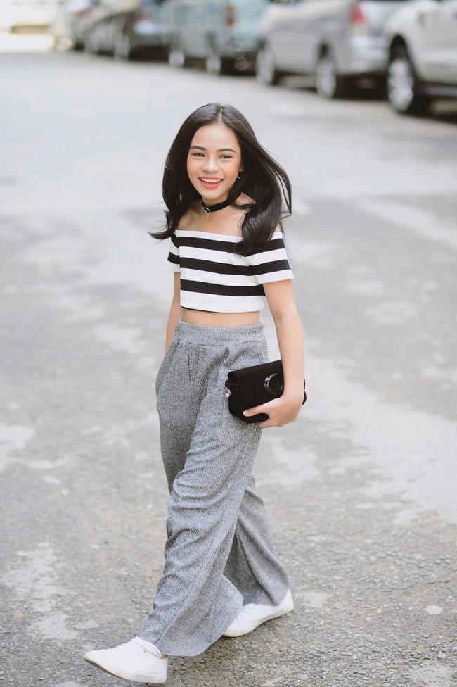 Cô bé 10 tuổi người Việt với phong cách thời trang không kém gì fashionista nhí nước ngoài - Ảnh 3.
