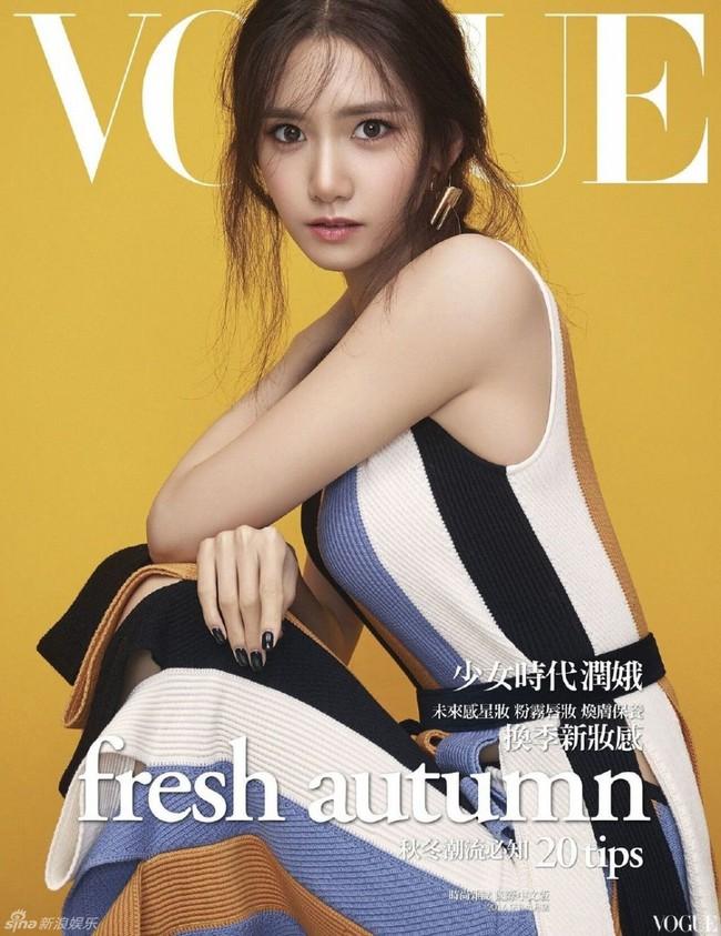 Yoona (SNSD) xuất hiện trên bìa tạp chí Vogue