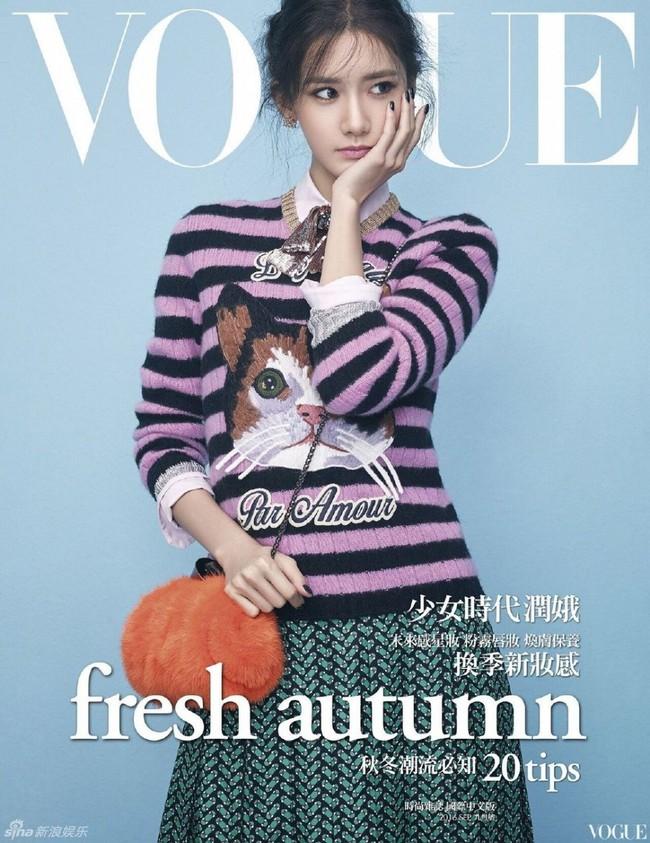 Yoona (SNSD) đẹp đến mê hồn, khoe chân dài miên man trên bìa tạp chí - Ảnh 6.