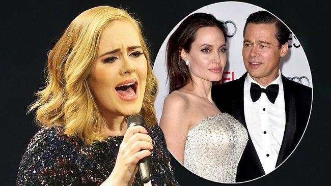 Adele chẳng quan tâm một tí nào đến chuyện Brangelina chia tay - Ảnh 2.