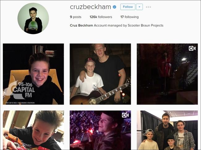 Con trai Beckham ký hợp đồng với quản lý của Justin Bieber, tung single đầu tay