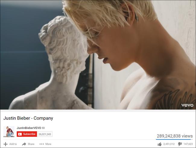 Sơn Tùng M-TP giờ còn vượt cả Justin Bieber: Sở hữu MV trong top bị Dislike nhiều nhất 2016 - Ảnh 4.
