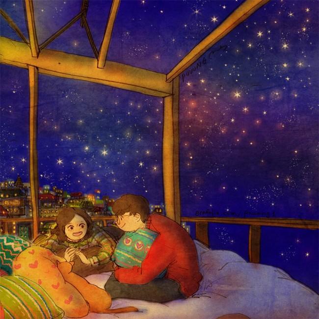 Yêu nhau đôi khi chỉ là làm những việc chẳng liên quan trong lúc ở bên nhau, miễn là cả hai đều vui vẻ - Ảnh 18.