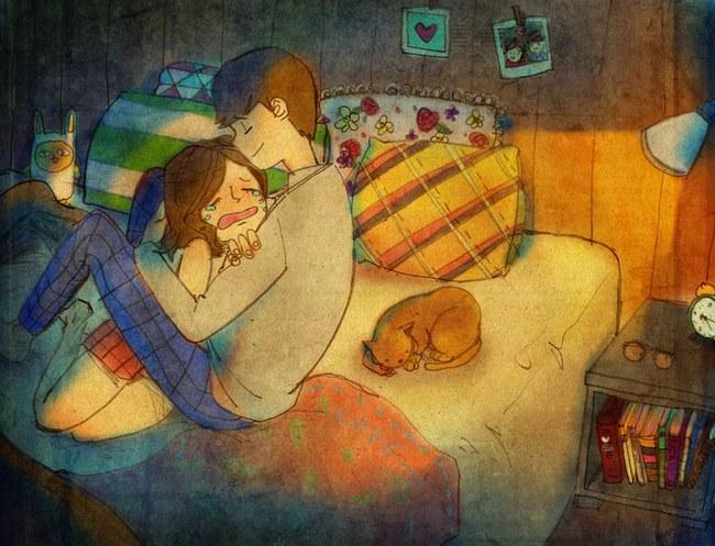 Yêu nhau đôi khi chỉ là làm những việc chẳng liên quan trong lúc ở bên nhau, miễn là cả hai đều vui vẻ - Ảnh 19.