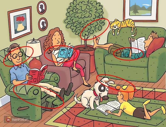 Lác mắt - xoắn não với 6 câu đố tìm từ trong tranh đầy thú vị - Ảnh 9.