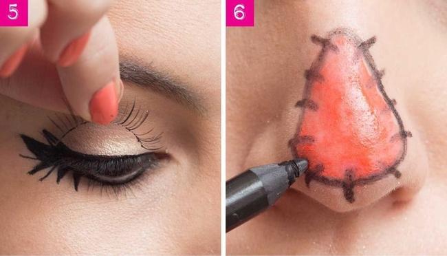 3 kiểu makeup Halloween vừa xinh vừa dễ để bạn thực hiện vào phút chót - Ảnh 4.