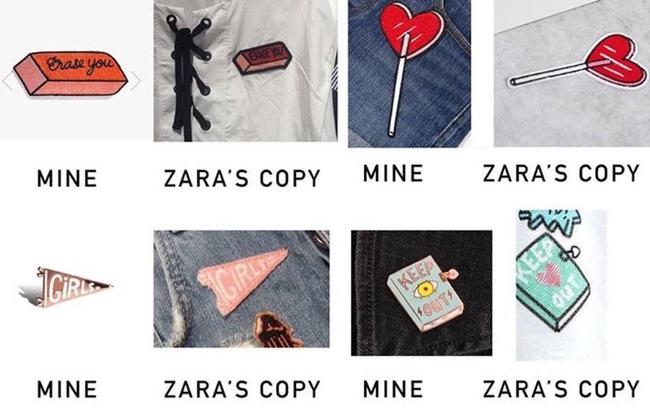 Zara bị tố ăn cắp thiết kế của một chuyên viên đồ họa - Ảnh 2.