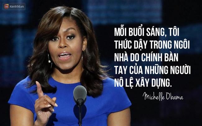 Hãy nghe hết bài diễn văn tuyệt vời của bà Michelle Obama, bạn sẽ hiểu làm Tổng thống nghĩa là gì - Ảnh 6.