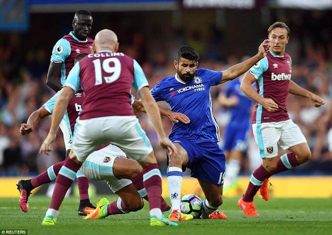 Diego Costa nổ súng phút 89, Chelsea thắng nghẹt thở West Ham - Ảnh 5.