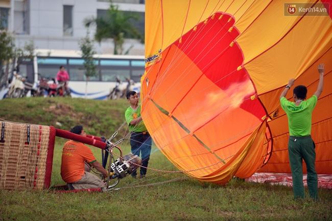 Trải nghiệm ngắm cao nguyên Mộc Châu trên khinh khí cầu khổng lồ - Ảnh 2.