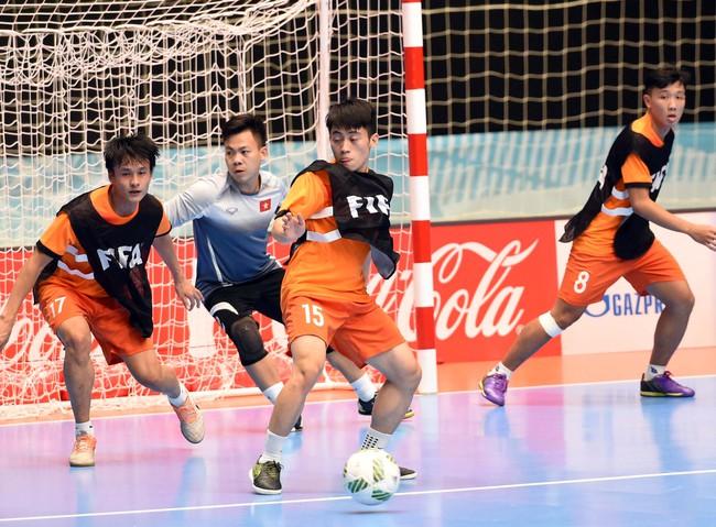 Tuyển futsal Việt Nam tự tin đánh bại đội bóng số 3 thế giới ở vòng 1/8 World Cup - Ảnh 10.