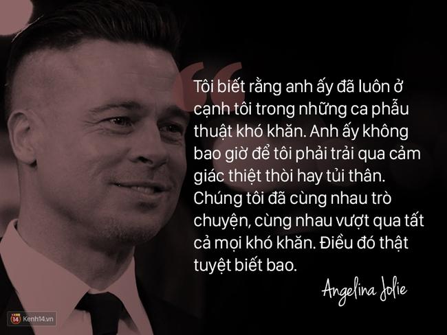 Trước khi ly hôn, Angelina Jolie từng nói về Brad Pitt: Chúng tôi như thể một cặp sinh ra là dành cho nhau - Ảnh 5.