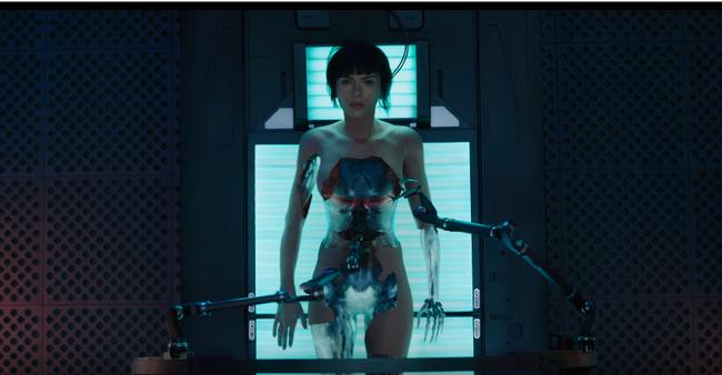 Choáng ngợp với tạo hình robot của Scarlett Johansson trong Ghost In The Shell - Ảnh 3.