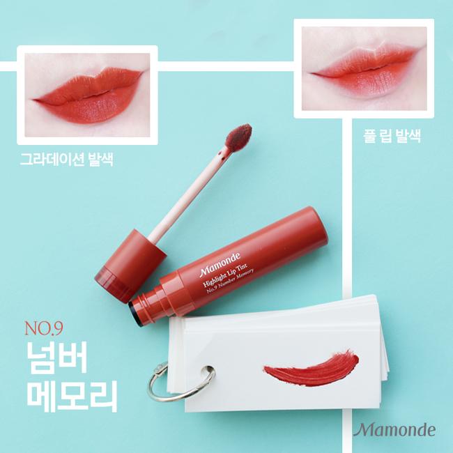 Swatch 8 màu son Hàn Quốc siêu hot có giá dưới 250 ngàn VNĐ cùng Beauty Zone - Ảnh 3.