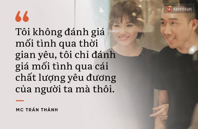 Từ mối tình từng bị ghét bỏ Trấn Thành - Hari Won, học cách làm chỗ dựa cho người mình yêu cả khi thế giới - Ảnh 2.