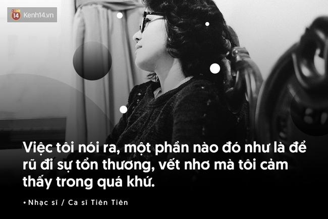 Tiên Tiên nói về tuổi thơ bị xâm hại tình dục: Đó là khoảng thời gian dài đen tối và kinh khủng nhất - Ảnh 3.