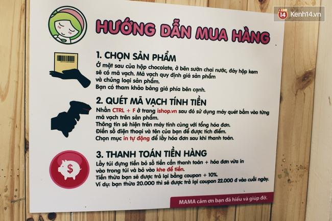 Cửa hàng tự phục vụ 100% ở Hà Nội, việc buôn bán phụ thuộc vào sự trung thực và tử tế của khách hàng - Ảnh 9.