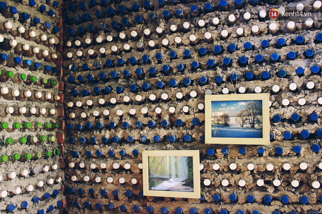 Ngôi nhà đặc biệt xây bằng 8.800 vỏ chai nhựa ở Hà Nội - Ảnh 7.