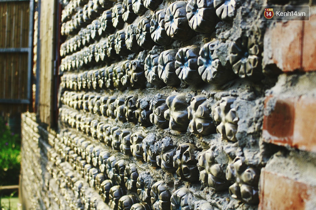 Ngôi nhà đặc biệt xây bằng 8.800 vỏ chai nhựa ở Hà Nội - Ảnh 2.