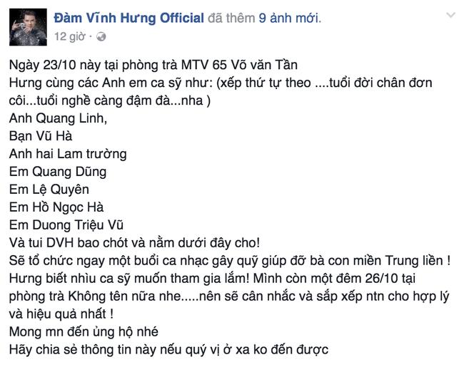 Các sao Việt cũng đang cùng chung tay giúp đỡ đồng bào lũ lụt miền Trung - Ảnh 2.