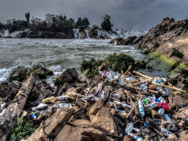 Rùng mình trước hình ảnh những dòng sông đầy rác thải và xác cá chết - Ảnh 18.
