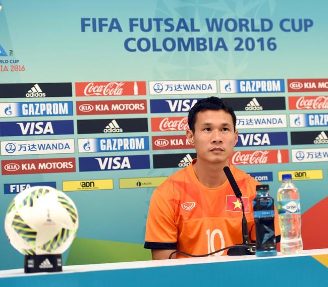Tuyển futsal Việt Nam tự tin đánh bại đội bóng số 3 thế giới ở vòng 1/8 World Cup - Ảnh 12.