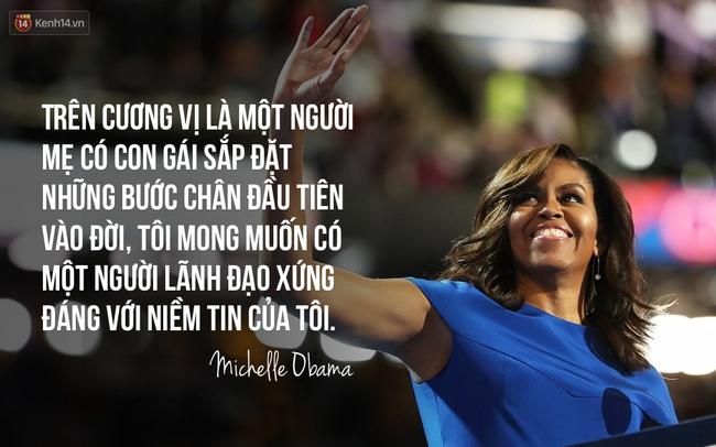 Hãy nghe hết bài diễn văn tuyệt vời của bà Michelle Obama, bạn sẽ hiểu làm Tổng thống nghĩa là gì - Ảnh 8.