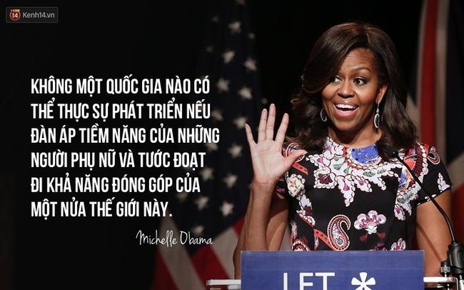 10 câu nói nổi tiếng của bà Michelle Obama truyền cảm hứng cho phụ nữ trên toàn thế giới - Ảnh 8.
