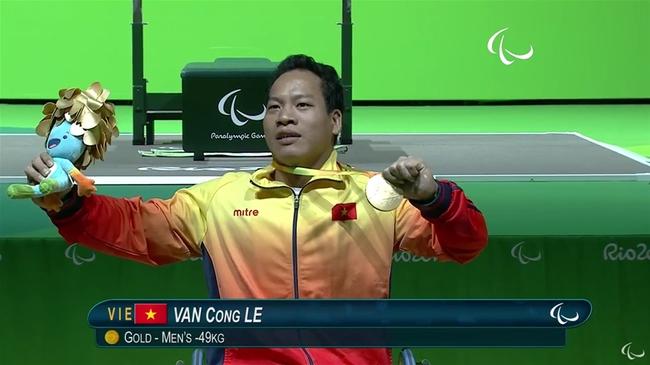 Lê Văn Công giành HCV lịch sử cho thể thao Việt Nam ở Paralympic - Ảnh 3.