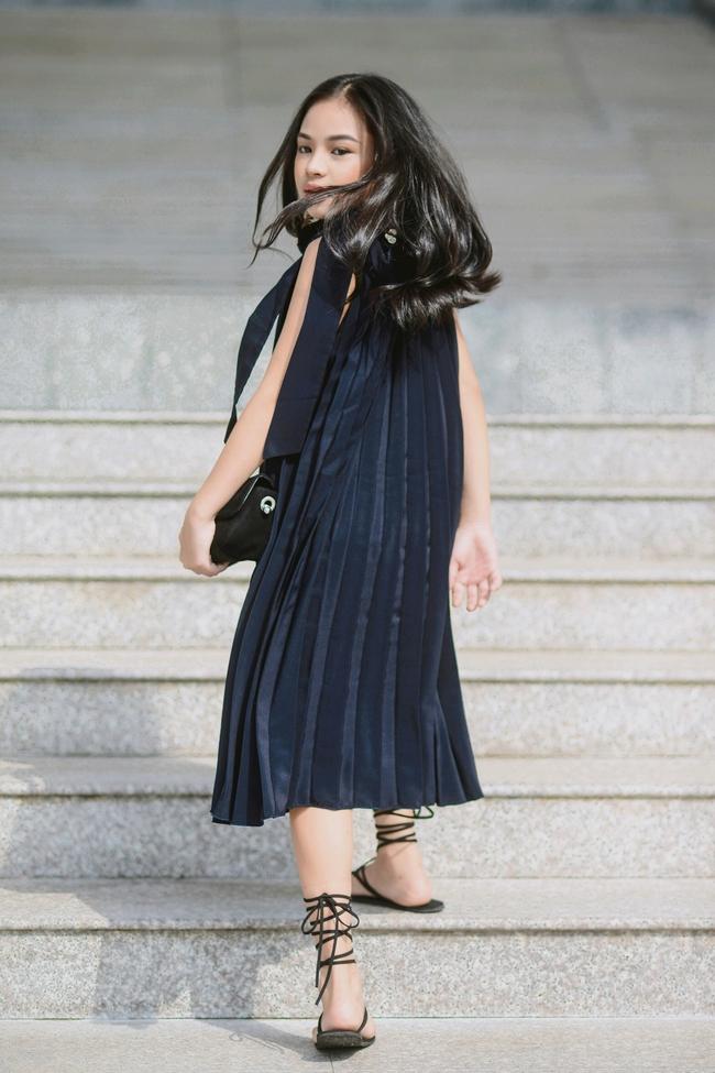 Cô bé 10 tuổi người Việt với phong cách thời trang không kém gì fashionista nhí nước ngoài - Ảnh 4.