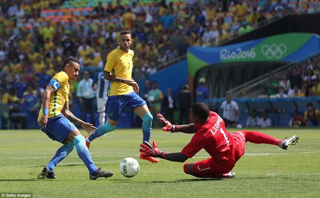 Neymar lập kỷ lục Olympic trong ngày Brazil vào chung kết với chiến thắng 6 sao - Ảnh 3.