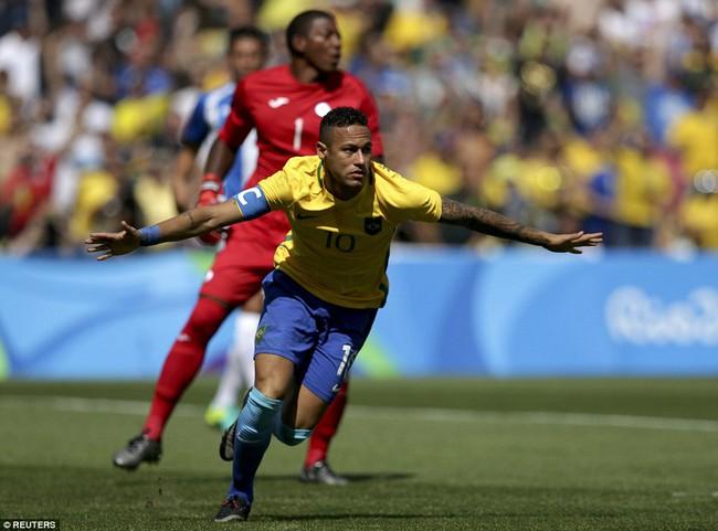 Neymar lập kỷ lục Olympic trong ngày Brazil vào chung kết với chiến thắng 6 sao - Ảnh 5.