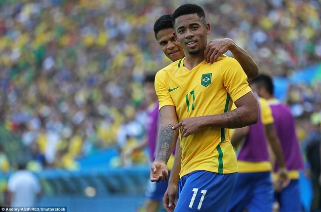 Neymar lập kỷ lục Olympic trong ngày Brazil vào chung kết với chiến thắng 6 sao - Ảnh 7.