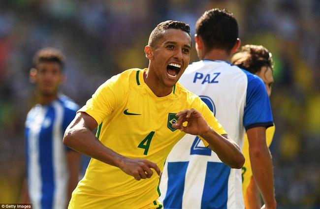 Neymar lập kỷ lục Olympic trong ngày Brazil vào chung kết với chiến thắng 6 sao - Ảnh 9.