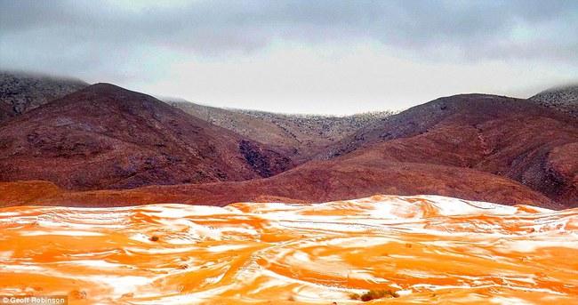 Lần thứ 2 trong lịch sử, sa mạc Sahara có tuyết rơi! - Ảnh 6.