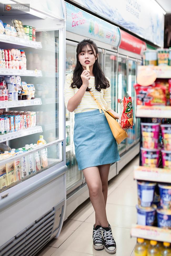 Diện chân váy mini suốt 7 ngày không chán nhờ 7 công thức siêu xinh - Ảnh 9.