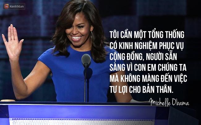 Hãy nghe hết bài diễn văn tuyệt vời của bà Michelle Obama, bạn sẽ hiểu làm Tổng thống nghĩa là gì - Ảnh 7.
