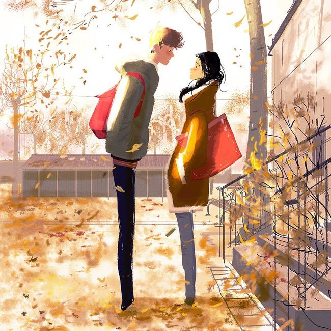Bộ tranh: Hạnh phúc trong tình yêu bắt đầu từ những gì nhỏ bé nhất - Ảnh 4.