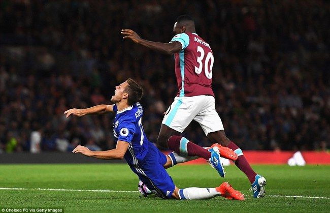 Diego Costa nổ súng phút 89, Chelsea thắng nghẹt thở West Ham - Ảnh 7.