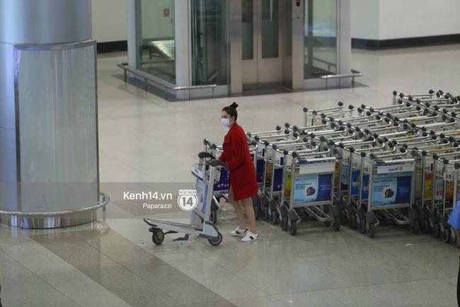 Ngọc Trinh gặp rắc rối với hành lý khi vừa về tới Việt Nam - Ảnh 2.