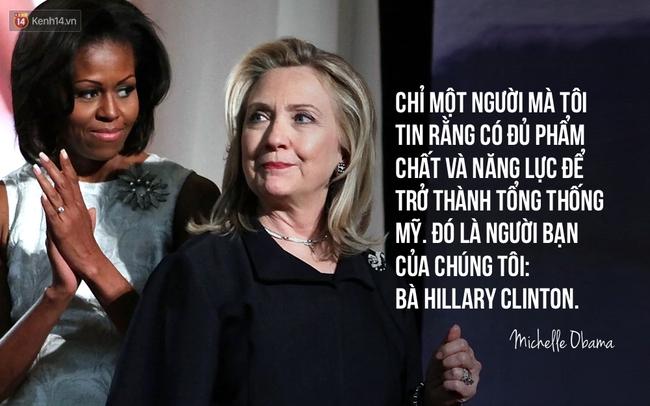 Hãy nghe hết bài diễn văn tuyệt vời của bà Michelle Obama, bạn sẽ hiểu làm Tổng thống nghĩa là gì - Ảnh 3.