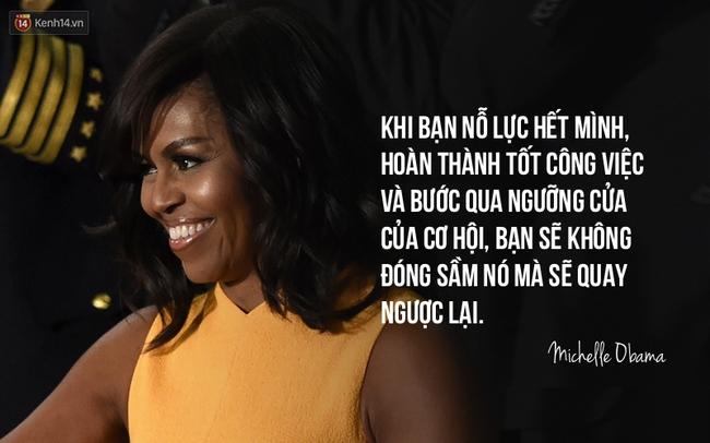 10 câu nói nổi tiếng của bà Michelle Obama truyền cảm hứng cho phụ nữ trên toàn thế giới - Ảnh 6.