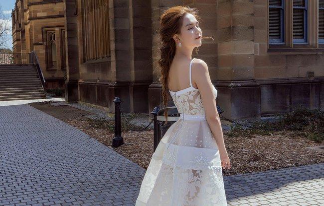 Ngọc Trinh xinh như công chúa trong bộ ảnh thực hiện tại Úc - Ảnh 5.